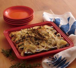 ポテトとオイルサーディンのオーブン焼きの作り方