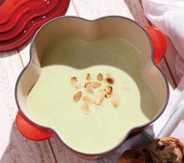 そら豆の冷製スープの作り方