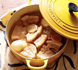 白味噌仕立てのラフティーの作り方