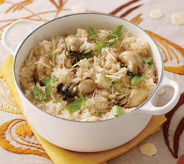 牡蠣ご飯の作り方