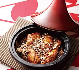 鶏肉のアーモンド風味煮の作り方