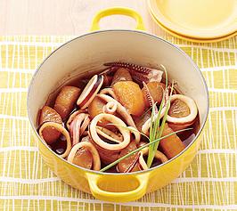 いかと大根の煮ものの作り方
