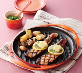 サーモンのステーキの作り方