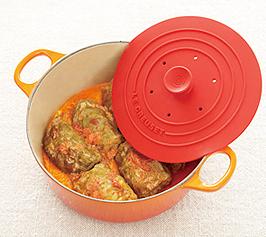 トマトクリームのロールキャベツの作り方