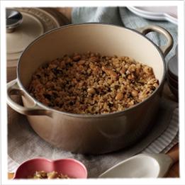 大豆の玄米ご飯