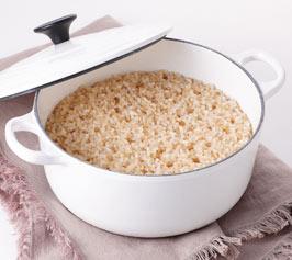 玄米の作り方