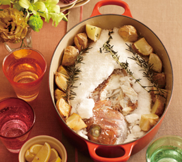 鯛の塩釜焼きの作り方