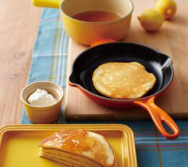 パンケーキとレモンジャムの作り方
