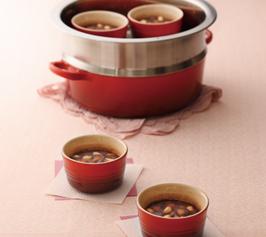 白インゲン豆の蒸しようかんの作り方