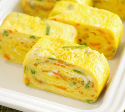 ふんわり卵の千草巻きの作り方