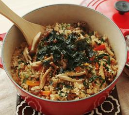 プルコギ風 炊き込みご飯の作り方