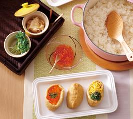 彩りいなり寿司の作り方