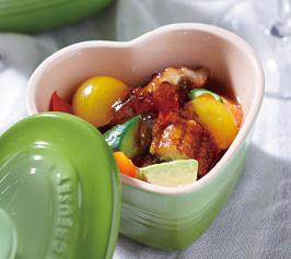 うなぎと夏野菜のジュレ添えの作り方