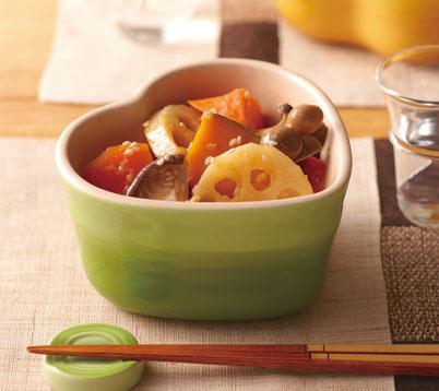 秋野菜の和風マリネの作り方