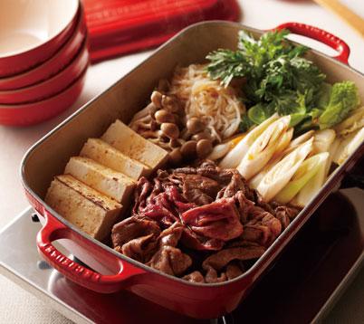関西風すき焼きの作り方