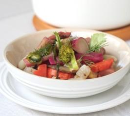 彩り野菜の蒸し煮の作り方