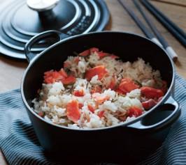 鮭の炊き込みご飯の作り方