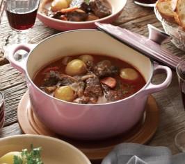 ブフ・ブルギニョン(牛肉の赤ワイン煮)の作り方