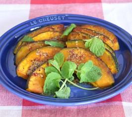かぼちゃの蒸し煮 ハニーマスタードソースの作り方