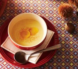 栗のビロード風スープの作り方