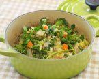 キヌアと春野菜のひと鍋ホットサラダ