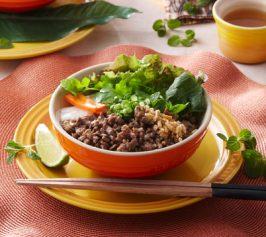 ベトナム風冷やし麺[ブンティットヌォン]の作り方