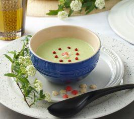 冷製枝豆の和風スープの作り方