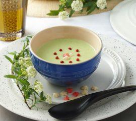 冷製枝豆の和風スープ