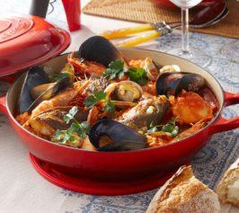 魚介の漁師風スープ仕立ての作り方