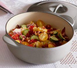 野菜とキヌアのマリネサラダの作り方