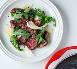 赤身肉のたたき タリアータ仕立ての作り方