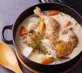 鶏のチーズクリーム煮