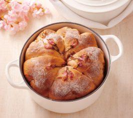 桜パンの作り方