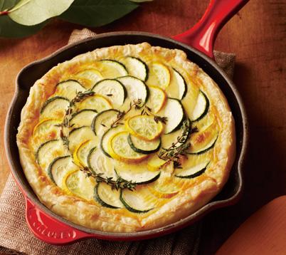 zucchini-tart