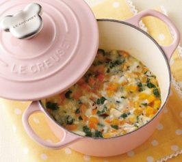 彩り野菜とお魚のホワイトシチューの作り方