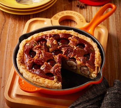 chestnut-tart