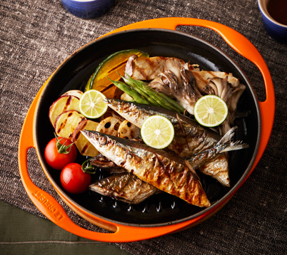 saury-grill
