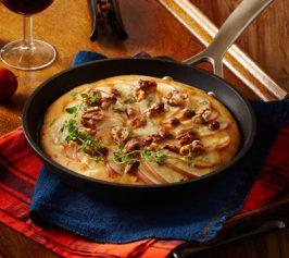 りんごとチーズのピッツァの作り方