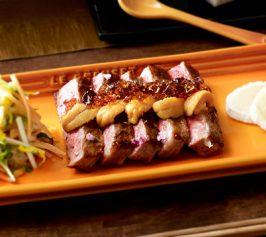 牛肉とウニのポン酢ジュレのせの作り方