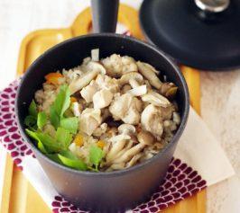 鶏の釜飯風の作り方