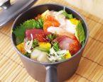 桶寿司風の海鮮ちらし