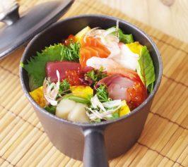 桶寿司風の海鮮ちらしの作り方