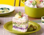 サラダケーキ