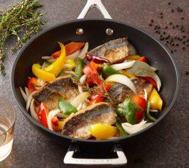 鯵と夏野菜の南蛮漬けの作り方