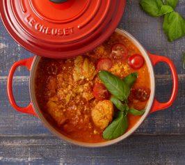 トマトたっぷりレッドカレーの作り方