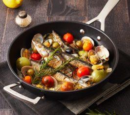 秋刀魚のアクアパッツァの作り方