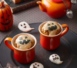 かぼちゃのマフィン・メレンゲお化け