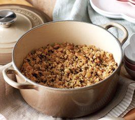 大豆の玄米ご飯の作り方