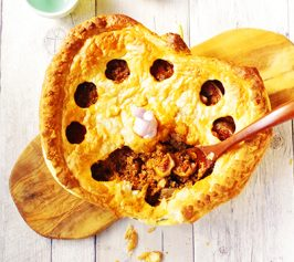 イチジクのミートパイの作り方