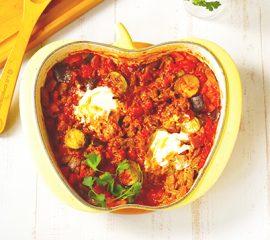 ラタトュイユ入り牛肉のトマト煮